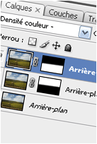 Photoshop : Calques et options de fusion