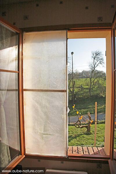 Mise en place sur la fenêtre