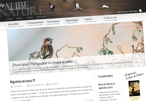 Nouveau blog photo, nouvelle présentation !