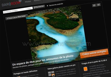 Darqroom, laboratoire en ligne et gestion de photothèque