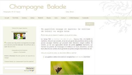 Champagne Balades, le blog