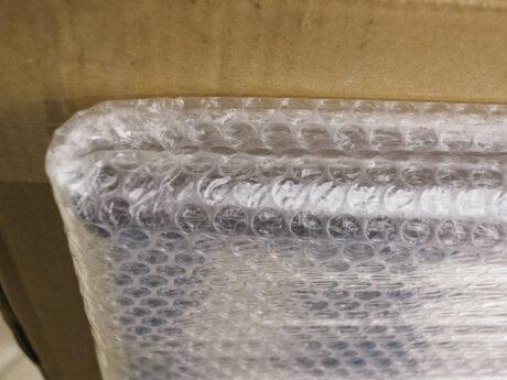 Détail de l'emballage de protection