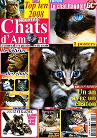 Magazine Chats d'amour